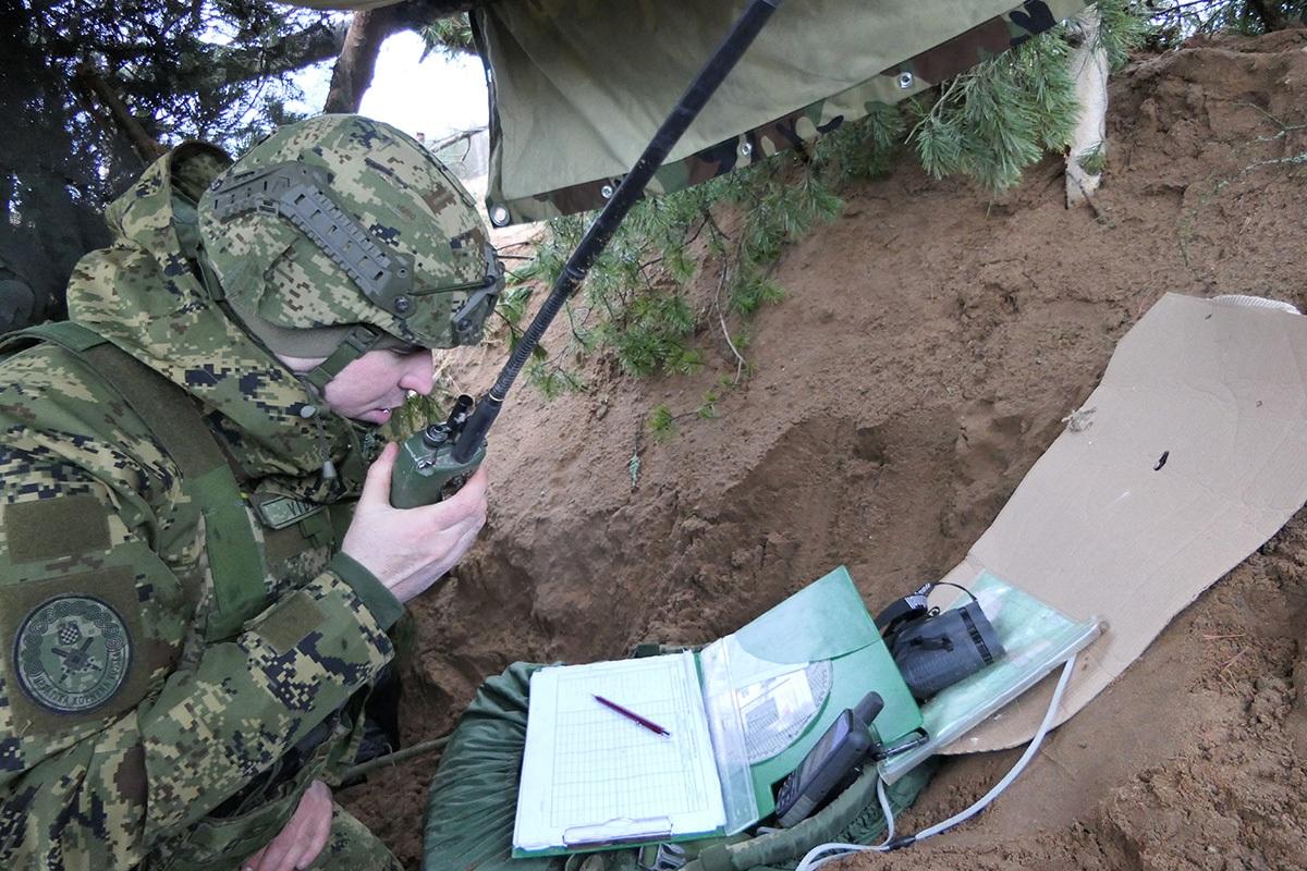 "Pripadnici 2. HRVCON-a eFP BG na združenoj vojnoj vježbi ""Winter Saber"""