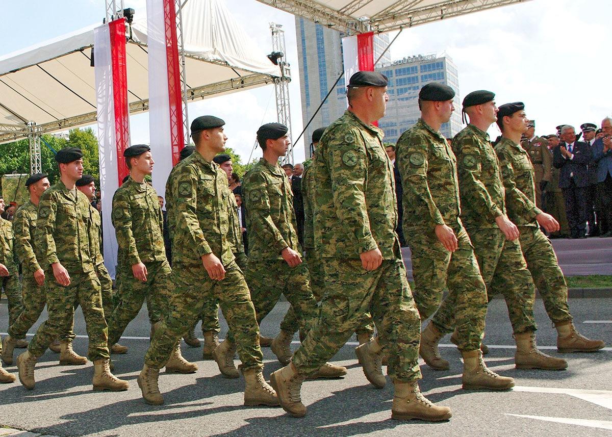 Pripadnici Hrvatske vojske na obilježavanju Dana OS R Poljske