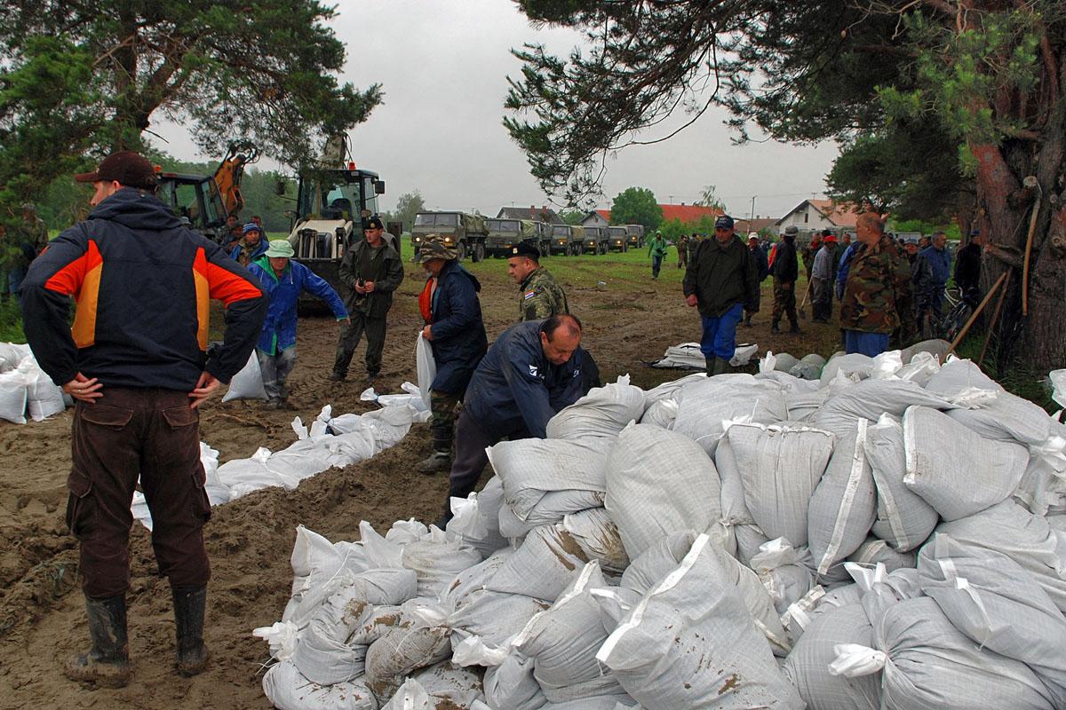 Pripadnici OS RH upućeni na područje Baranje
