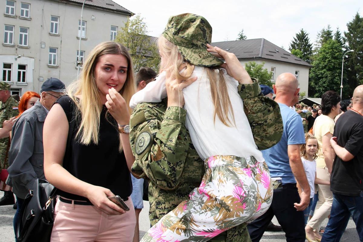 Prisegnuo 22. naraštaj ročnika na dragovoljnom vojnom osposobljavanju