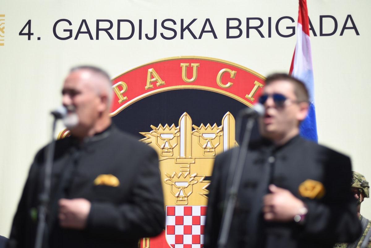 Proslava obljetnice Brigade i Bojne Pauci u Splitu