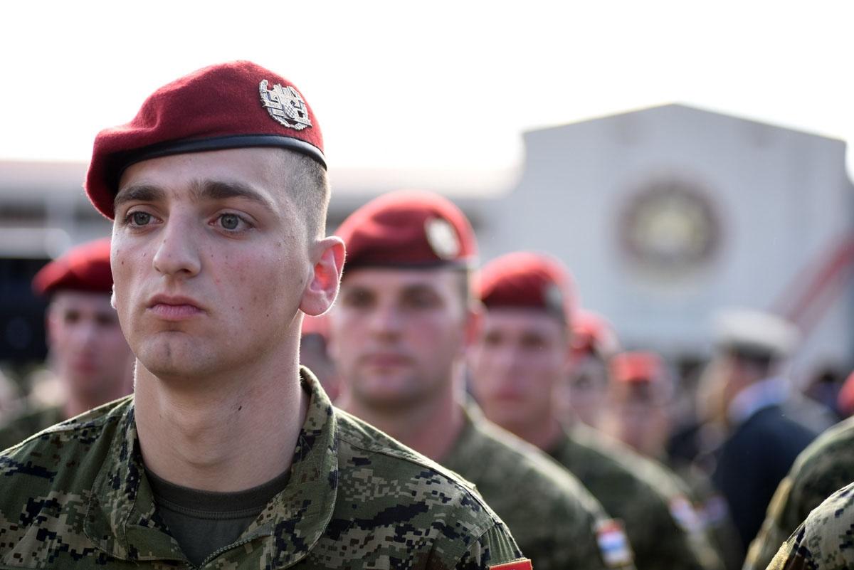 Svečano obilježavanje 28. obljetnice osnutka 4. gardijske brigade Pauci i 12. obljetnice ustrojavanja 3. mehanizirane bojne Pauci Gardijske mehanizirane brigade Hrvatske kopnene održalo se u Splitu u nedjelju, 28. travnja 2019. godine.