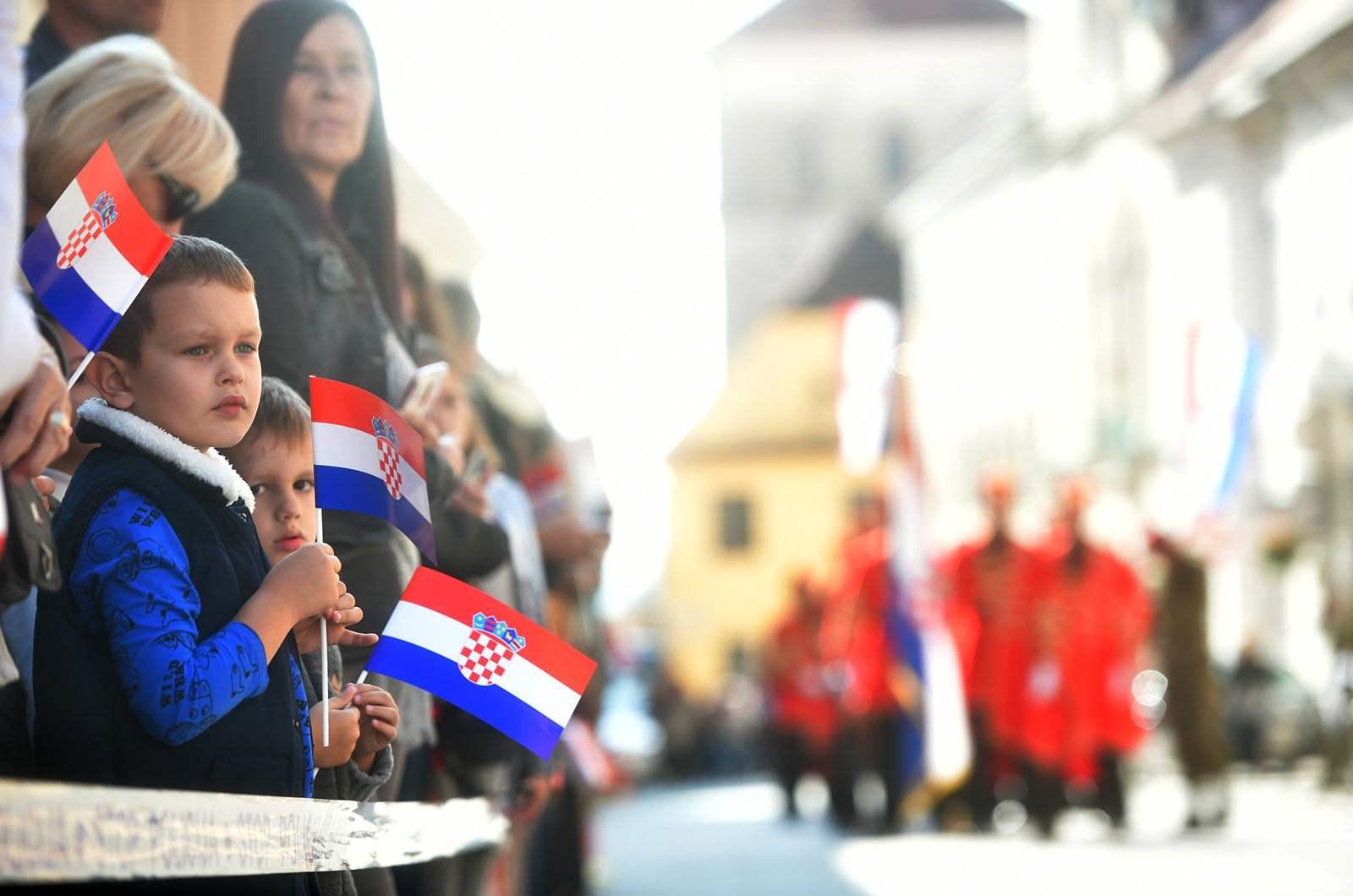 Dan neovisnosti Republike Hrvatske svečano je obilježen u utorak, 8. listopada 2019. u Zagrebu | Foto: MORH / T. Brandt