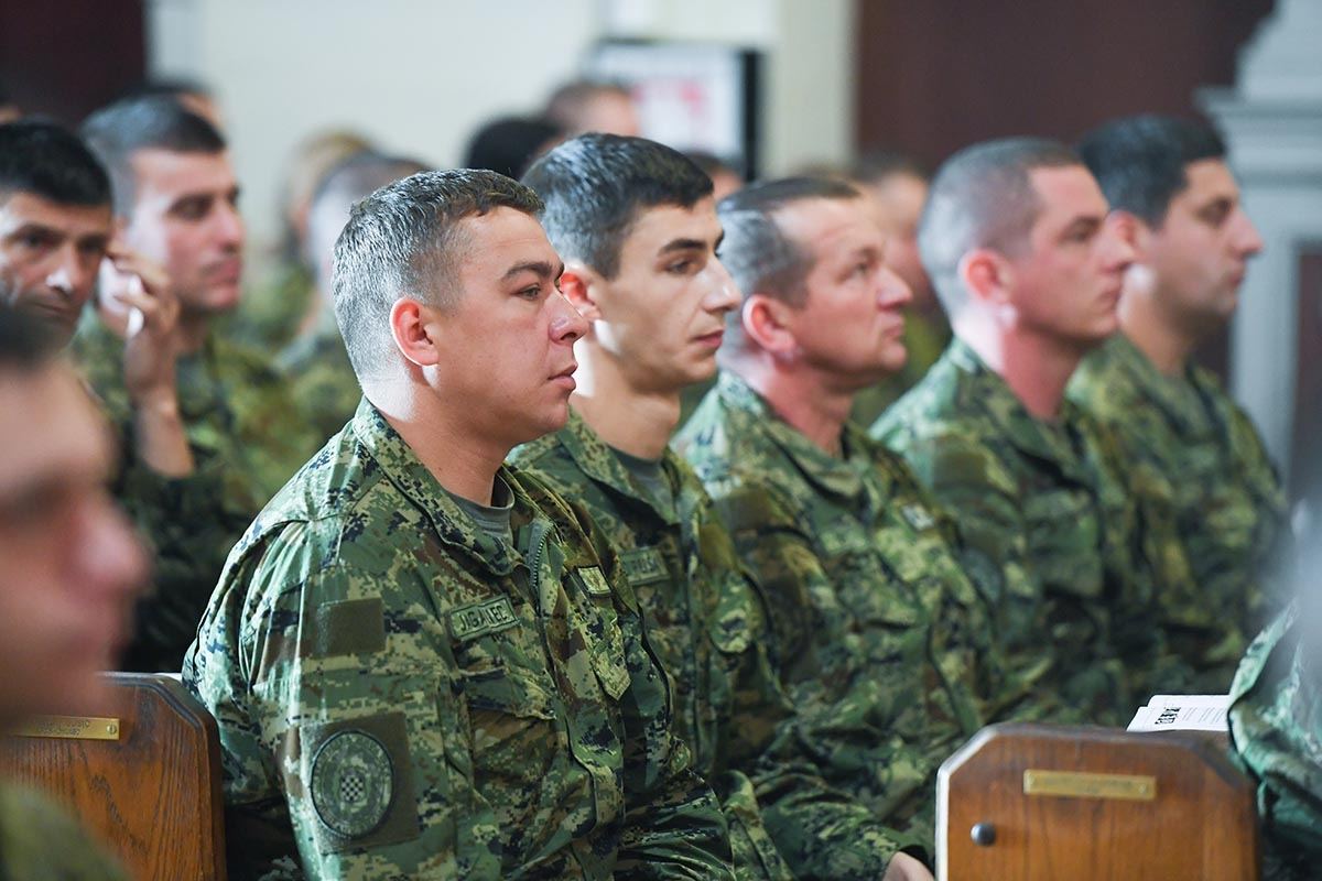 U Sinju svečano obilježena 12. obljetnica Gardijske mehanizirane brigade