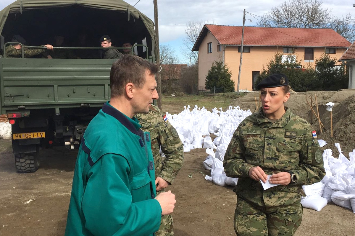 U Sisačko-moslavačku županiju upućeno 100 vojnika