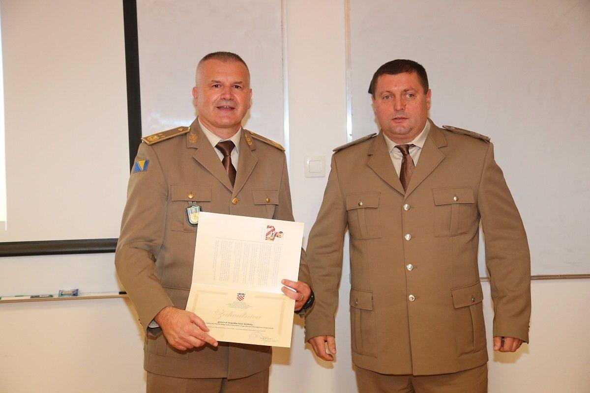 Zamjenik načelnika Zajedničkog stožera Oružanih snaga BiH posjetio HVU