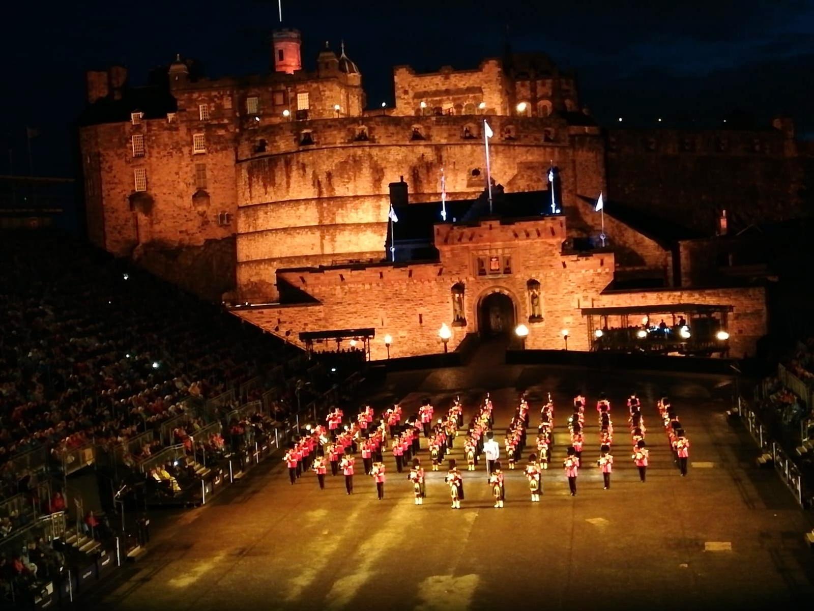 Zapovjednik ZzP-a na festivalu vojnih orkestara u Edinburghu
