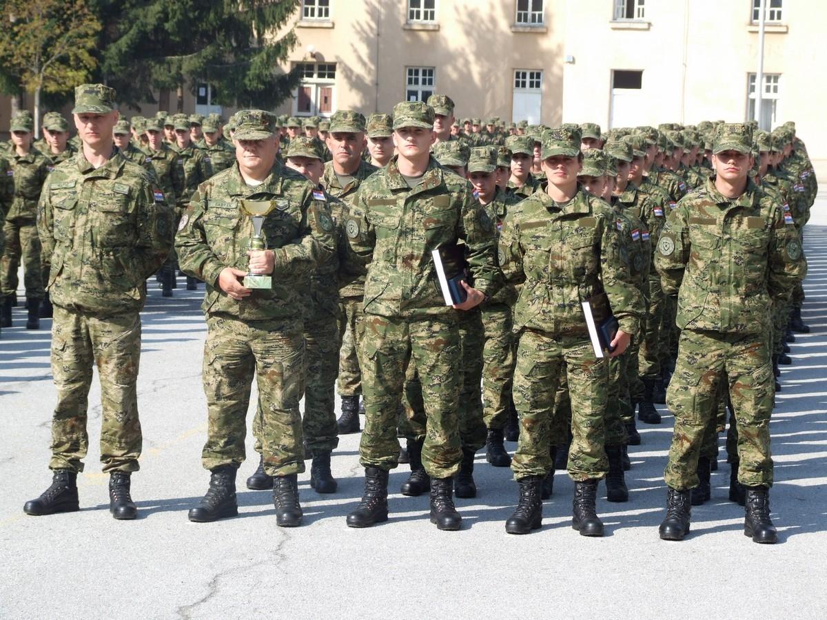 Završetak obuke 24. naraštaja dragovoljnih ročnika