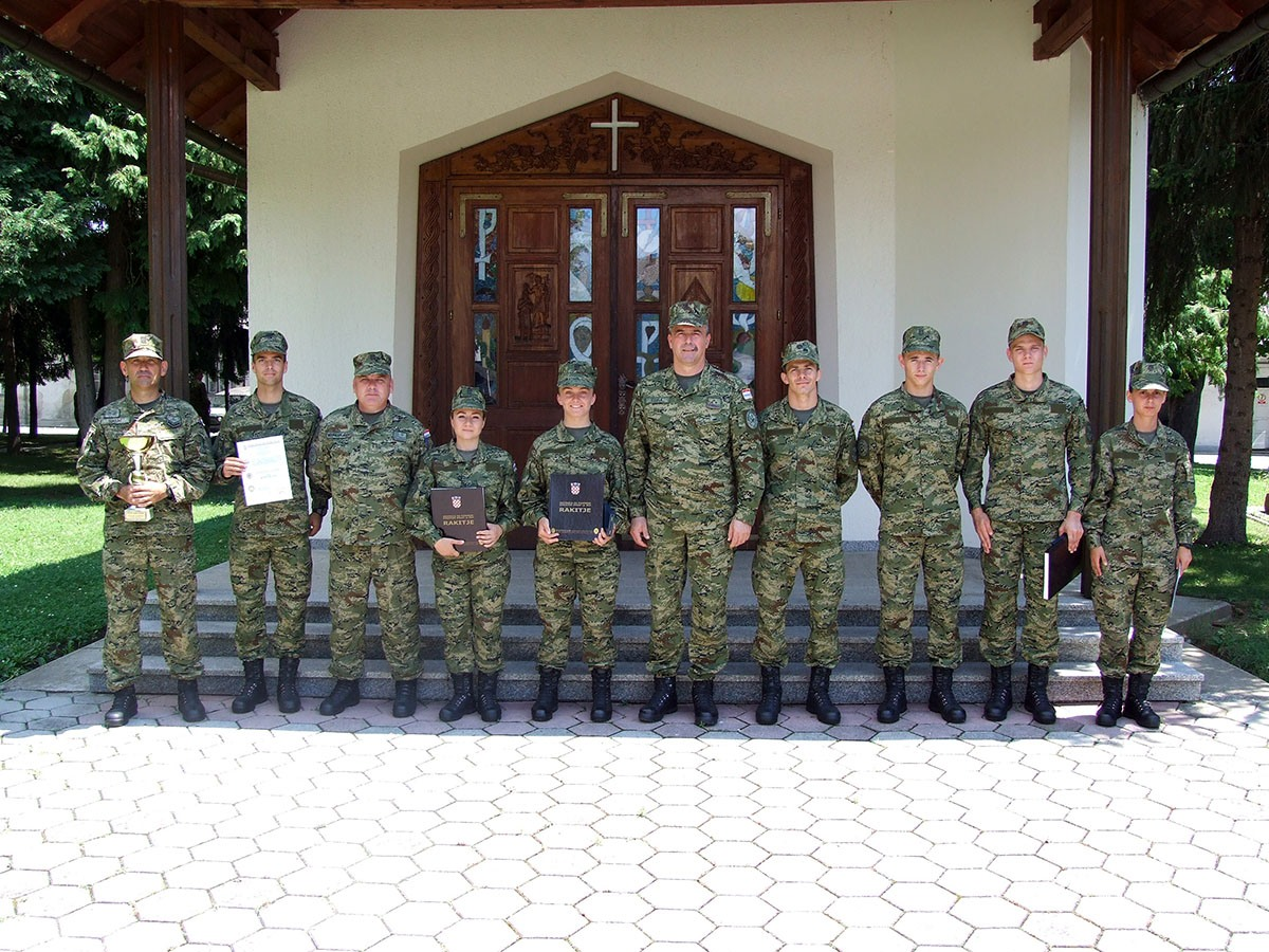 U Požegi je obilježen završetak obuke 25. naraštaja dragovoljnih ročnika i 7. naraštaja ročnika vrhunskih sportaša