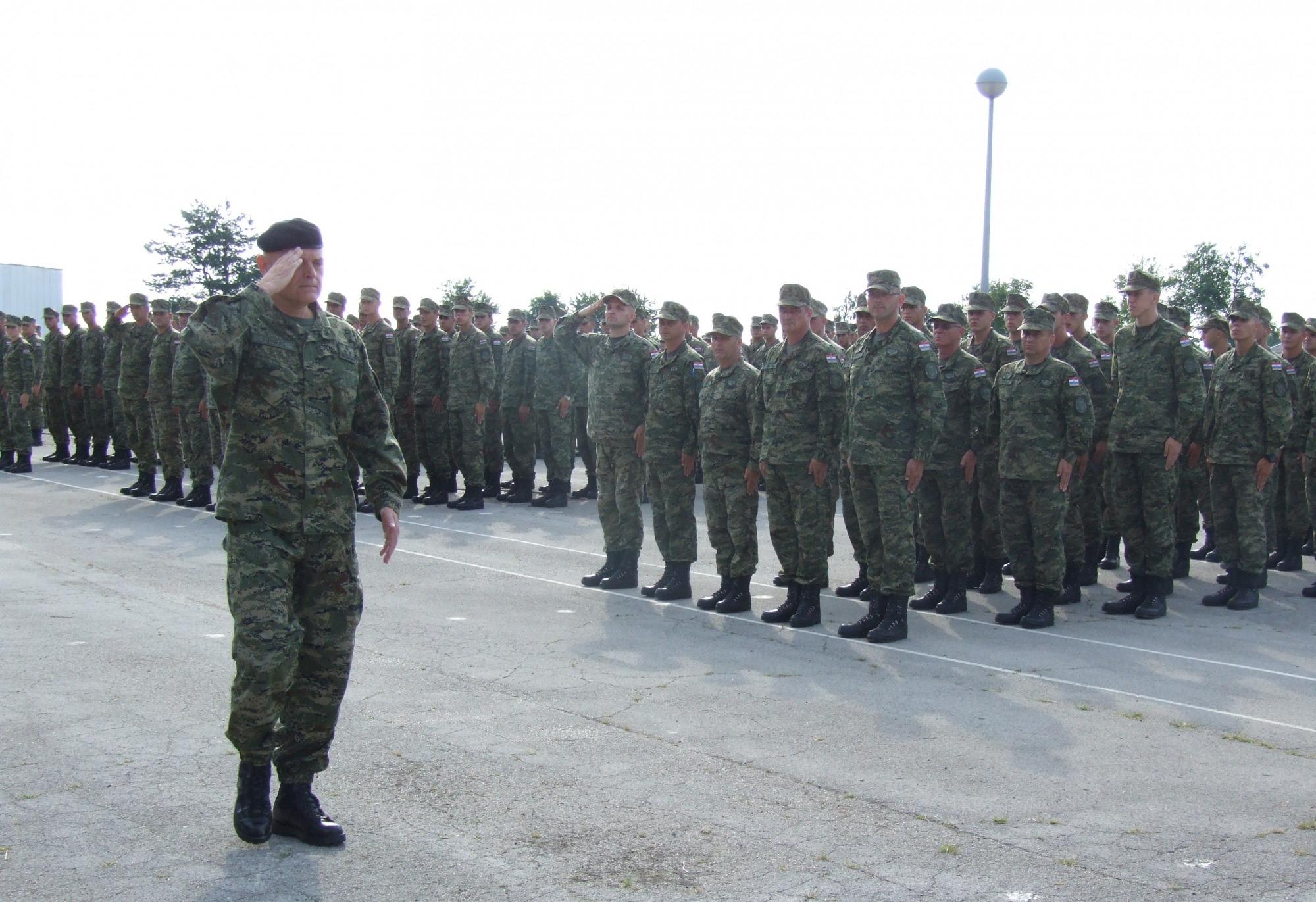 Završetak Specijalističke vojne obuke u Pješačkoj pukovniji ZOD-a