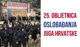 25. obljetnica oslobađanja juga hrvatske