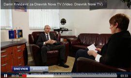Damir Krstićević za Dnevnik Nova TV
