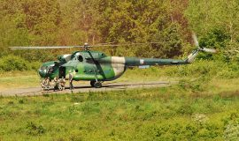 MEDEVAC helikopter