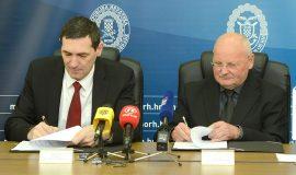 Gallery: Potpisivanje Sporazuma o suradnji između MORH-a i HOO-a