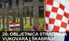 26. obljetnica stradanja Vukovara i Škabrnje