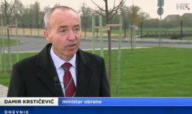 Potpredsjednik Vlade i ministar obrane Damir Krstičević za Dnevnik HRT