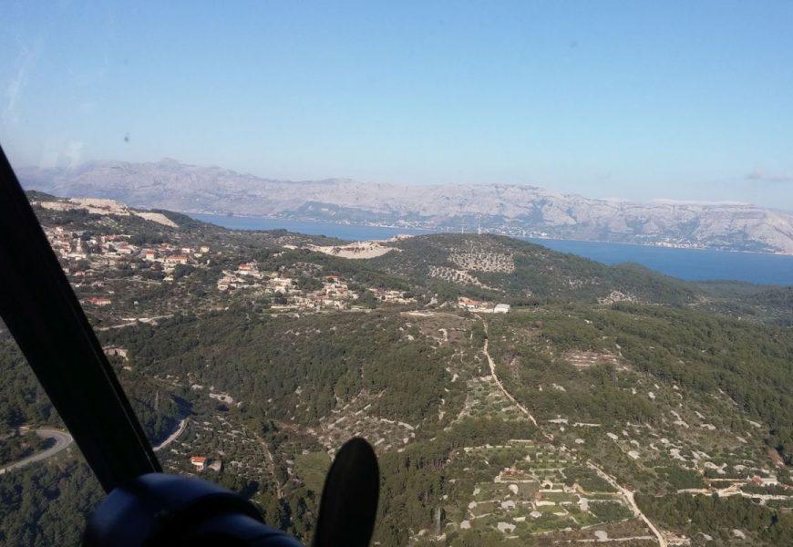 Helikopter Mi-8 MTV u potrazi za nestalom osobom na Braču