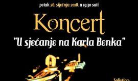 Koncert Karlo Benko