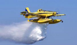 Airtractor u akciji gašenja požara