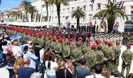 obljetnice Brigade i Bojne Pauci u Splitu