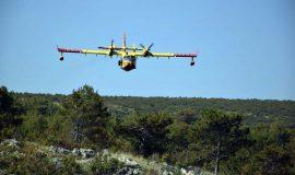 Zračne snage sudjelovale u gašenju požara kod Šibenika