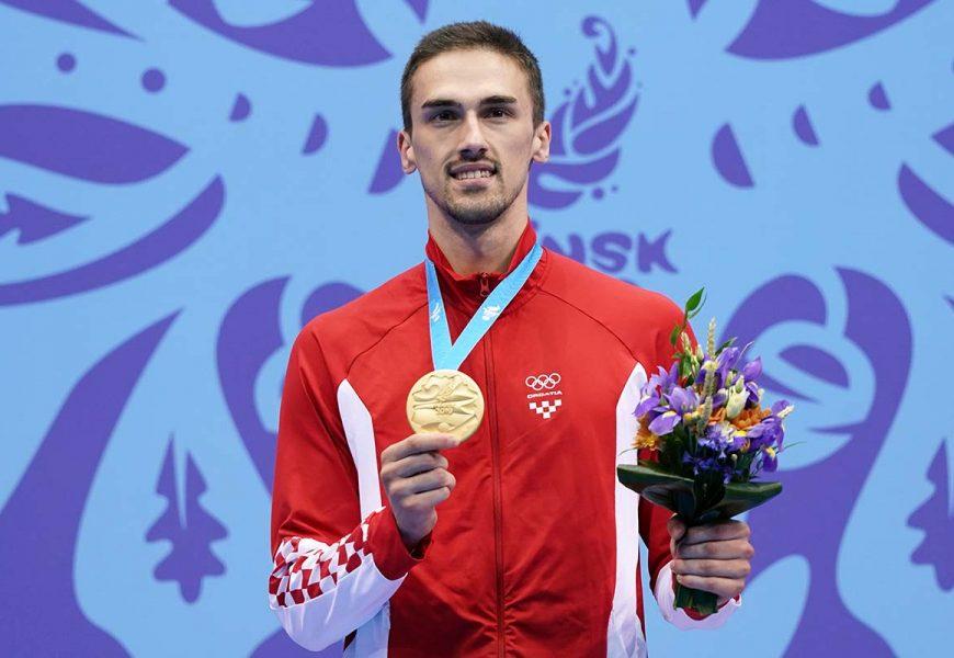 Hrvatski karataš Ivan Kvesić osvojio je zlatnu medalju u karateu u kategoriji do 84 kilograma na 2. Europskim igrama Minsk 2019.