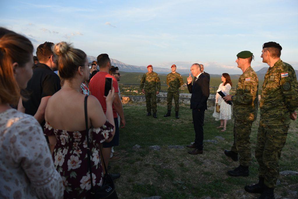 Krstičević održao predavanje na Kninskoj tvrđavi