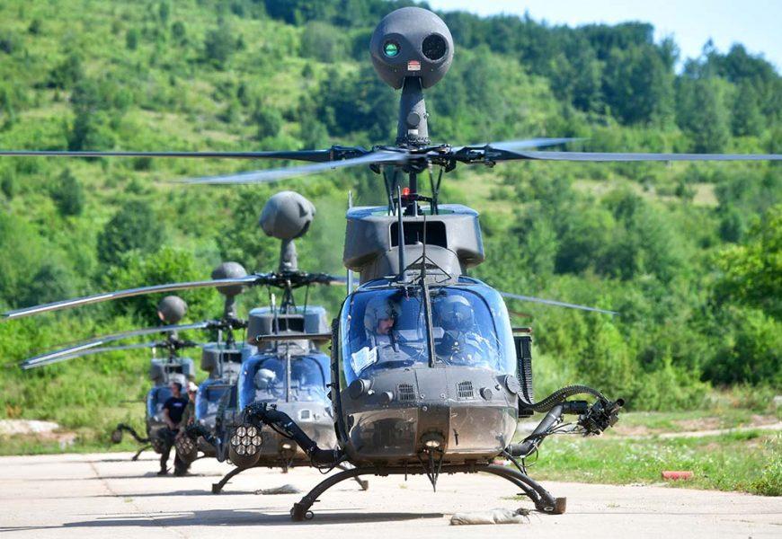 Kruna obuke nove skupine borbenih pilota Kiowa Warrior-a