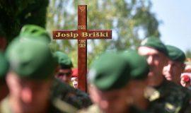 Posljednji ispraćaj skupnika Josipa Briškog