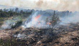 Kopnene snage Hrvatske vojske angažirane u gašenju požara