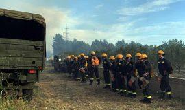 Dodatne kopnene snage Hrvatske vojske upućene na požarište kod Šibenika