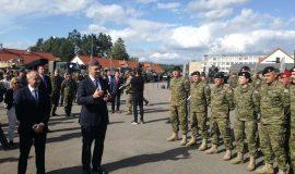 Plenković i Krstičević s hrvatskim vojnicima u Poljskoj