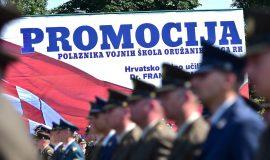 Svečana promocija polaznika vojnih škola HVU-a u Vukovaru