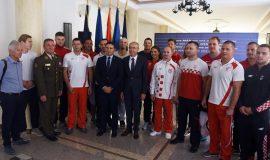 Krstičević čestitao pričuvnicima HV-a na medaljama u Minsku