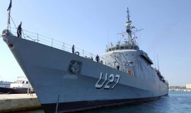 """Brazilski brod """"BRASIL"""" u posjetu Hrvatskoj ratnoj mornarici"""