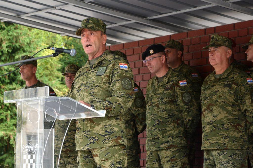 Načelnik GS OSRH Šundov - Dodjela činova polaznicima 16. naraštaja Izobrazbe za razvoj vođa