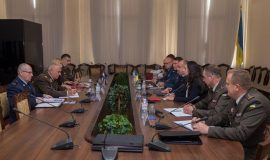 General Pađen u službenom posjetu Ukrajini