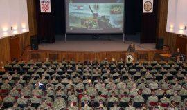 Na HVU održano predavanje o general-bojniku Andriji Matijašu - Pauku