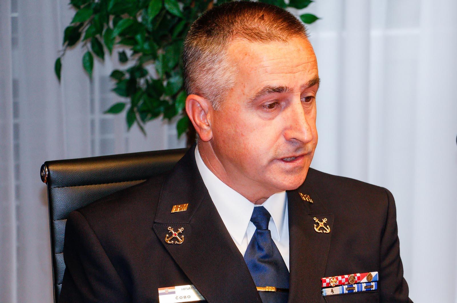 Primopredaja dužnosti zapovjednika Središta za obuku HRM-a