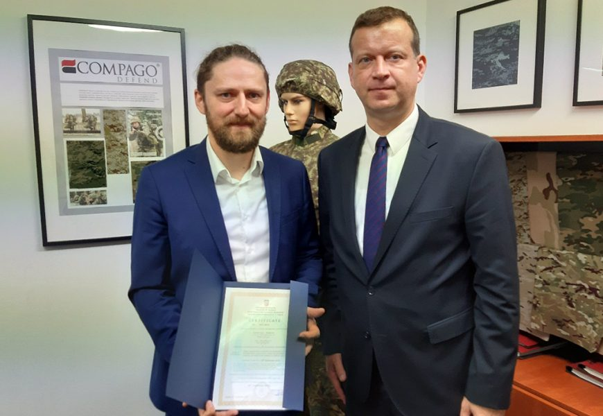 NATO-ov certifikat kvalitete Čateks