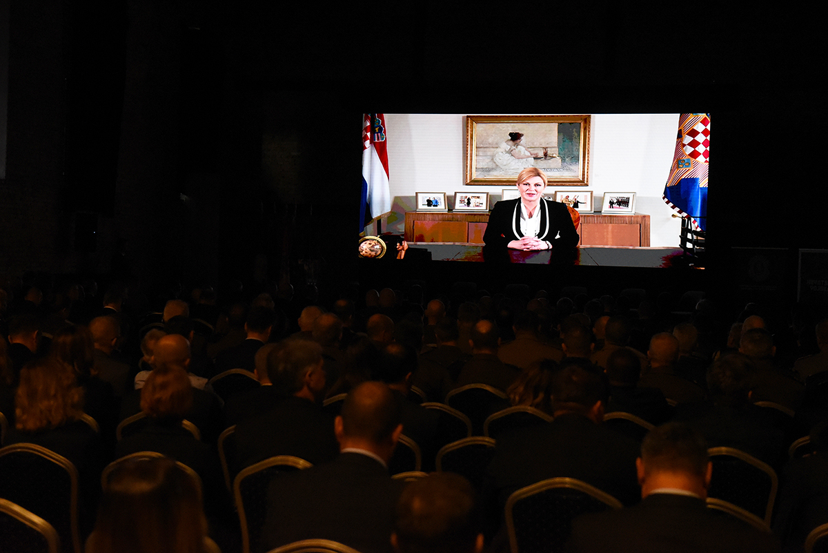 Minister Krsticevic Attends Conference On Defence Industry Morh