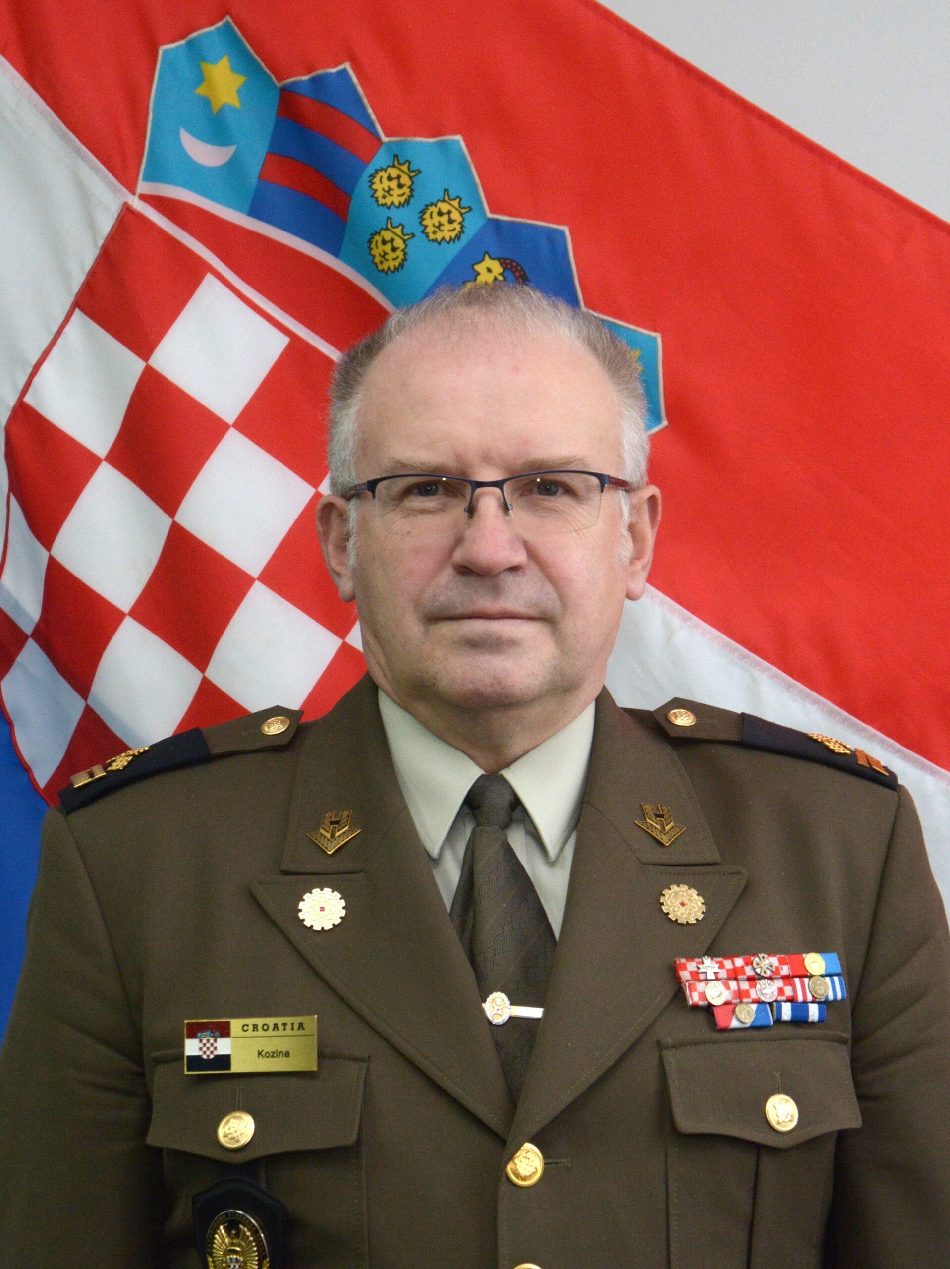 Brigadir dr. sc. Andrija Kozina